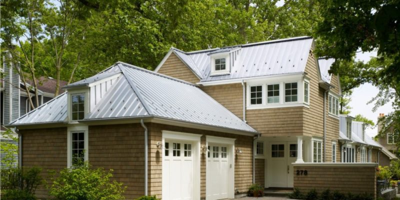 Silver-Standing-Seam-Metal-Roof-with-Snowguards